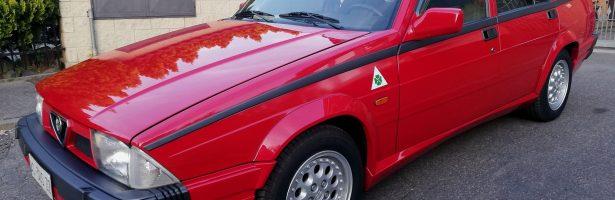 ALFA ROMEO 75 1800 Turbo Quadrifoglio Verde A.S.N.